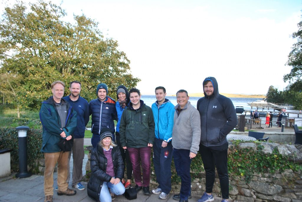 Team Building at Lusty Beg