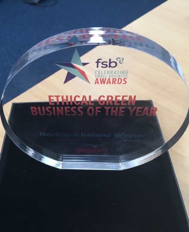 MCL Consulting win Ethical-Green Business of the Year at the FSB NI Awards!