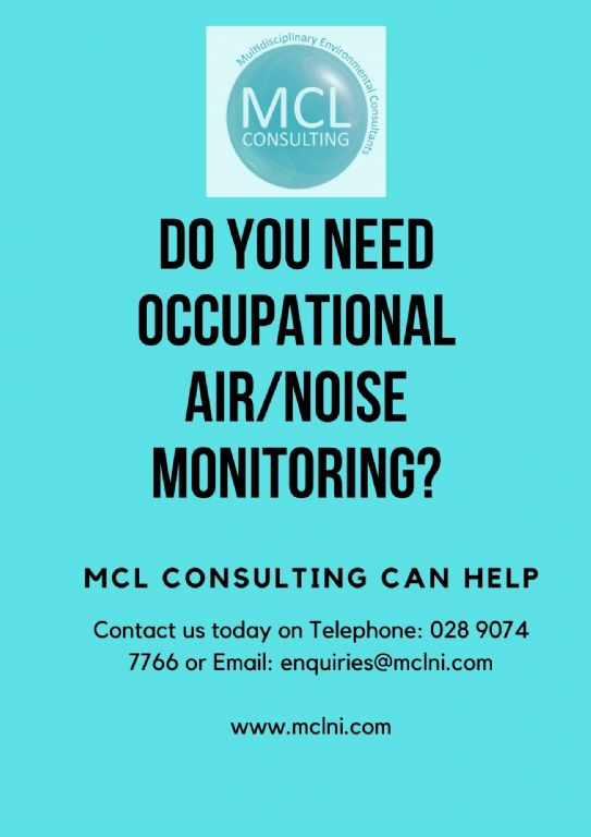 Occupational Air/Dust/Noise Monitoring