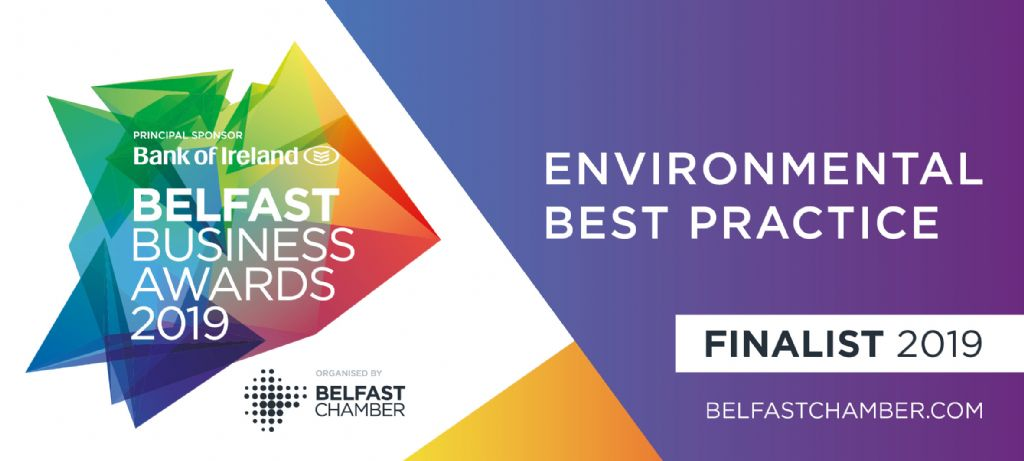 Finalists in the Belfast Business Awards!